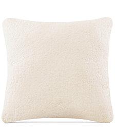 "Intelligent Design Jensen 24"" x 24"" Sherpa to Softspun Euro Pillow"