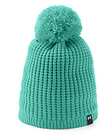 Under Armour Favorite Waffle Pom Beanie