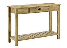 "48"" Country Style Entry Console Table - Barnwood"