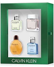 Calvin Klein Men's 4-Pc. Classics Gift Set, Created for Macy's