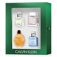 Calvin Klein Mens 4-Pc. Classics Holiday 2018 Gift Set