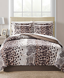 Fairfield Square Collection Congo Reversible 8-Pc. Queen Comforter Set