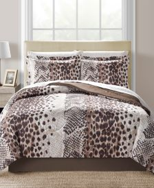 Congo Reversible 8-Pc. Queen Comforter Set