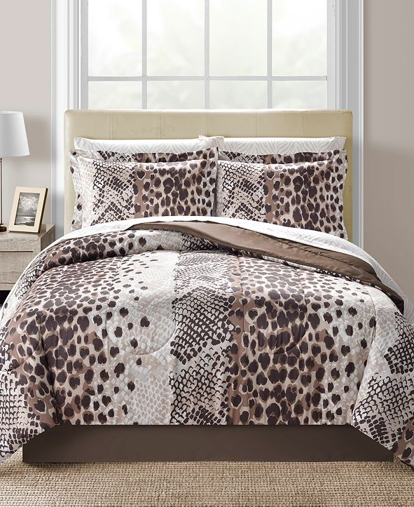 Fairfield Square Collection CLOSEOUT! Congo Reversible 6-Pc. Twin Comforter Set