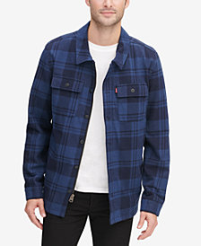 Levi's® Men's Plaid Shirt Jacket