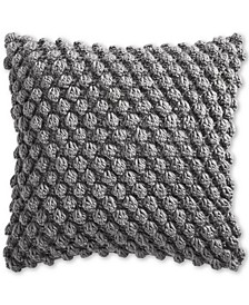 """CLOSEOUT! Charter Club Bobble Knit 18"""" Decorative Pillow, Created for Macy's"""
