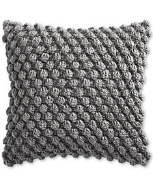 "Charter Club Bobble Knit 18"" Decorative Pillow, Created for Macy's"