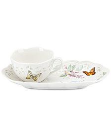 Lenox Butterfly Meadow  Soup & Sandwich Tray