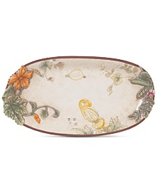 Fitz and Floyd Fattoria Oval Platter