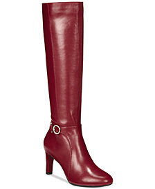 Bandolino Lella Wide-Calf Dress Boots, Created for Macys