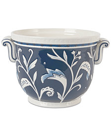 Fitz and Floyd Bristol Floral-Print Cachepot