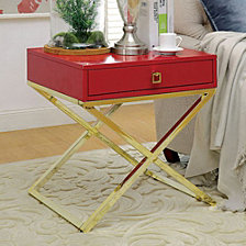 Contemporary Style Side Table