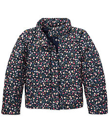 Polo Ralph Lauren Little Girls Floral Quilted Jacket