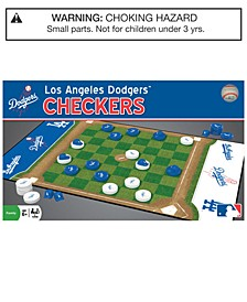 MasterPieces Los Angeles Dodgers Checkers