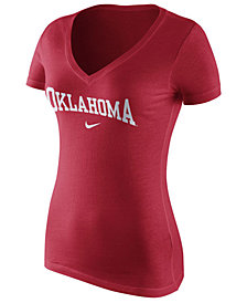 Nike Women's Oklahoma Sooners Wordmark T-Shirt