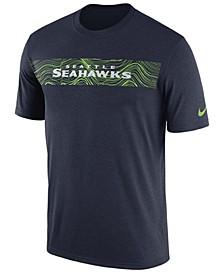 Men's Seattle Seahawks Legend On-Field Seismic T-Shirt