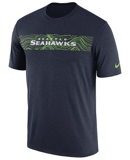 Nike Men's Seattle Seahawks Legend On-Field Seismic T-Shirt