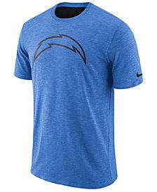 Nike Men's Los Angeles Chargers Dri-Fit Cotton Slub On-Field T-Shirt