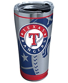Texas Rangers 20oz. Genuine Stainless Steel Tumbler