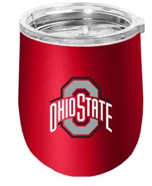 Ohio State Buckeyes Stainless Steel Stemless Wine Glass
