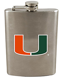 Memory Company Miami Hurricanes 8oz Stainless Steel Flask