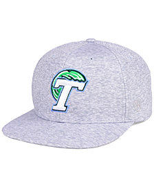 Top of the World Tulane Green Wave Solar Snapback Cap