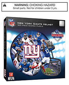 MasterPieces New York Giants 500 Piece Shaped Puzzle
