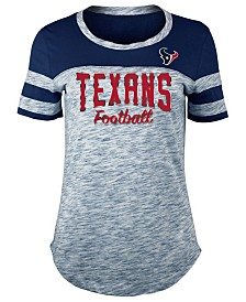 5th & Ocean Women's Houston Texans Space Dye T-Shirt