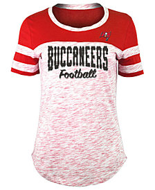 5th & Ocean Women's Tampa Bay Buccaneers Space Dye T-Shirt