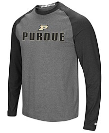 Men's Purdue Boilermakers Social Skills Long Sleeve Raglan Top