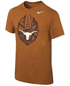 Nike Texas Longhorns Icon T-Shirt, Big Boys (8-20)