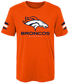 Outerstuff Denver Broncos Goal Line T-Shirt, Little Boys (4-7)