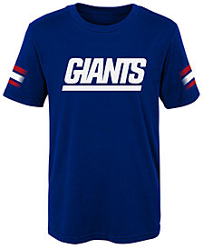 Outerstuff New York Giants Goal Line T-Shirt, Little Boys (4-7)