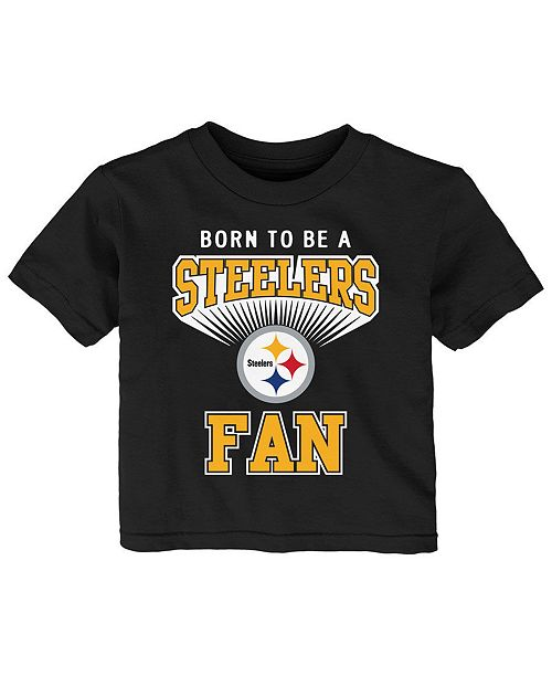 Outerstuff Pittsburgh Steelers Born Fan T-Shirt d15c82465