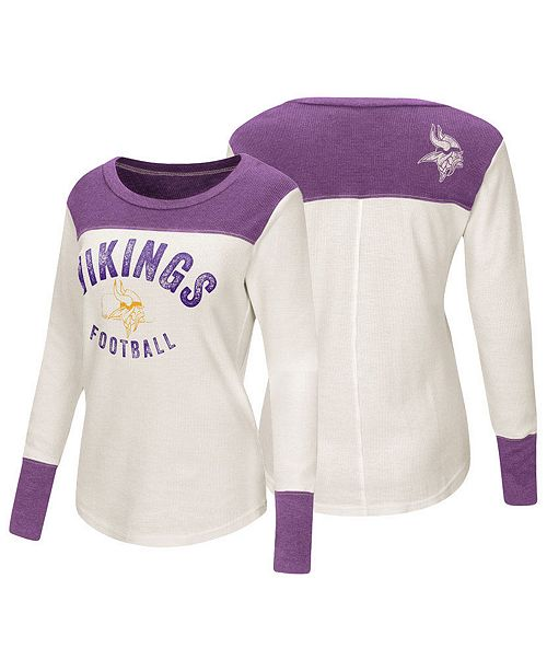 0fb34ec09 Touch by Alyssa Milano Women s Minnesota Vikings Thermal Long Sleeve ...