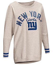Touch by Alyssa Milano Women's New York Giants Backfield Long Sleeve Top