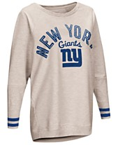 Touch by Alyssa Milano Women s New York Giants Backfield Long Sleeve Top 2d5fd90fd