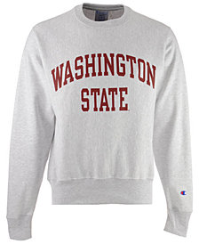Champion Men's Washington State Cougars Reverse Weave Crew Sweatshirt