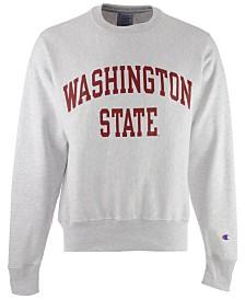 Champion Men's Washington State Cougars Reverse Weave Crew Sweatshirt