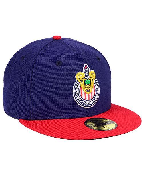 73a1e3f1352 New Era Chivas Liga MX 59FIFTY FITTED Cap   Reviews - Sports Fan ...
