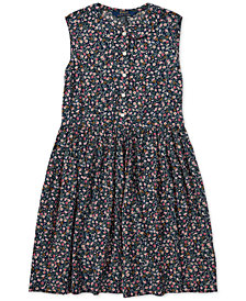 Polo Ralph Lauren Big Girls Floral Shift Dress