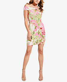GUESS Navine Off-The-Shoulder Bodycon Dress