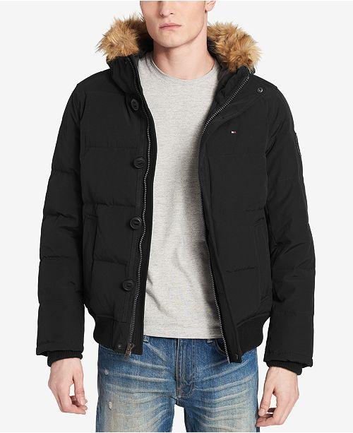 4b96b81b3ca Tommy Hilfiger Men s Big   Tall Parka with Faux-Fur Trimmed Hood.  350.00.  Sale ...