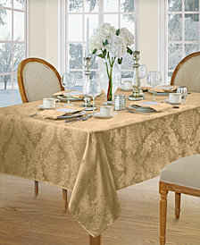 Elrene Barcelona Gold Table Linen Collection