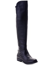 Hayley Wide-Calf Over-The-Knee Zip Boots, Created for Macy's