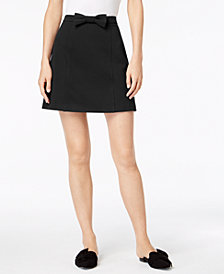 Maison Jules Bowtie Skirt, Created for Macy's