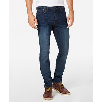 Tommy Hilfiger Men's Straight Fit Stretch Jeans