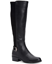 Women's Step 'N Flex Kallumm Wide-Calf Boots, Created for Macy's