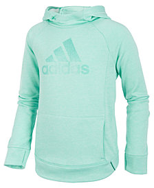 adidas Big Girls Push It Logo-Print Hoodie