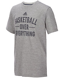 adidas Big Boys Basketball-Print T-Shirt